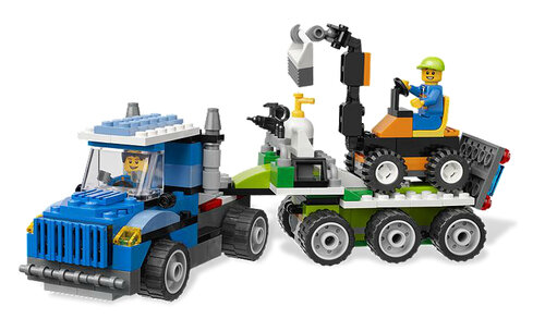 Lego Fun with Vehicles #5
