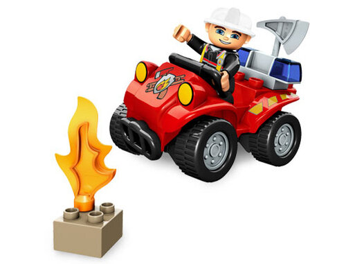 Lego Fire Chief #4
