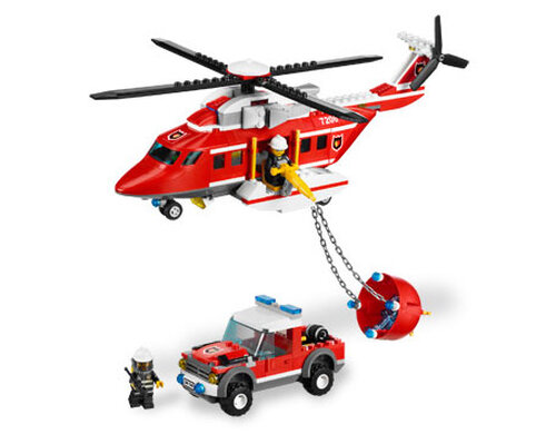Lego Fire Helicopter #6
