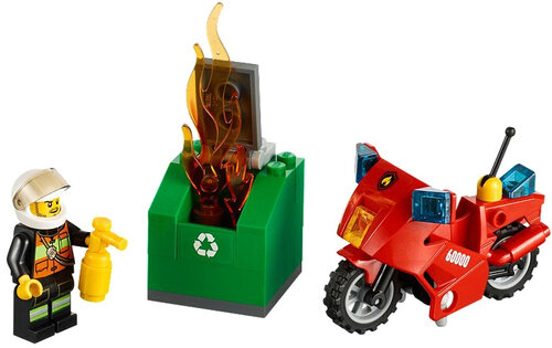 Lego Fire Motorcycle #2