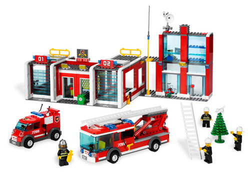 Lego Fire Station #2
