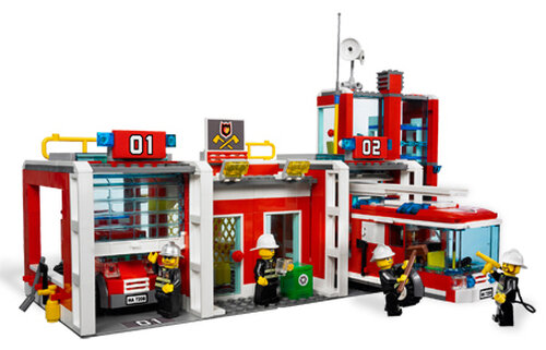 Lego Fire Station #3