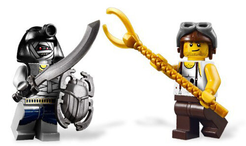 Lego Golden Staff Guardians #3