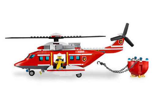 Lego Fire Helicopter #2