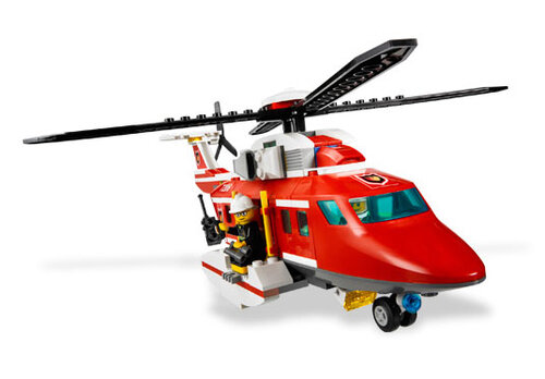 Lego Fire Helicopter #4