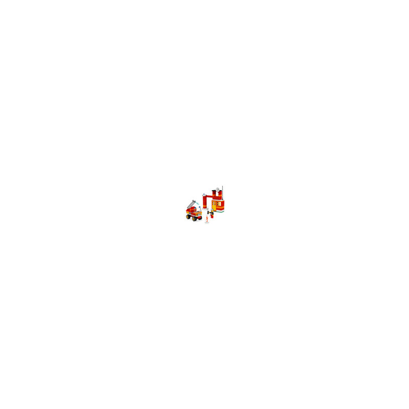 Lego ® Fire Fighter Building Set #1