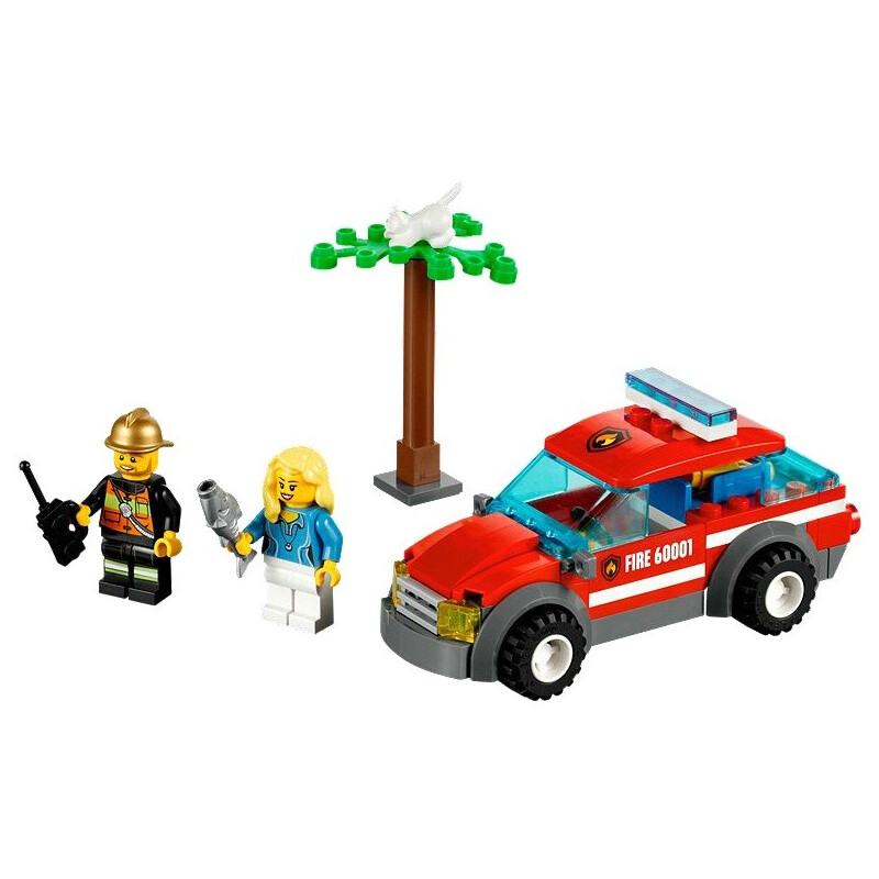 Lego Fire Chief Car #1